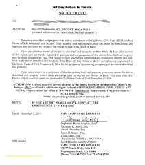 30 day notice to move out template