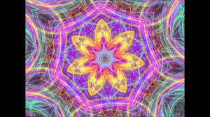 eazzle3d psychedelic video with an original ambient electronic musi