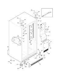 wiring diagram for frigidaire refrigerator solidfonts frigidaire refrigerator diagram wiring