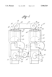 patent us5988569 truck cable plug and hose gladhand holder patent drawing