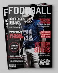 photoshop magazine cover template. How to Make A Magazine Layout In Photoshop Sports Magazine Cover