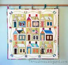 Free pattern day! House quilts (Quilt Inspiration) | House quilts ... & Free pattern day! House quilts Adamdwight.com