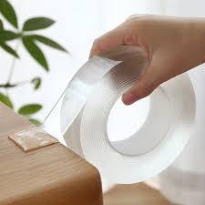 Reusable <b>magic Tape Nano</b> Cleanable Adhesive Transparent Sided ...