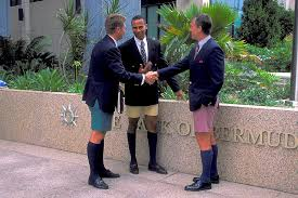 Men in Bermuda Shorts Photograph by Carl Purcell