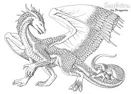 Realistic Dragon Coloring Pages Coloring Pages