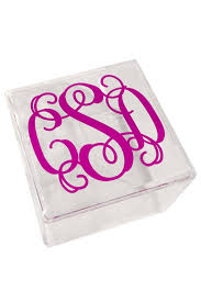 this personalized lucite box is made from 100 bpa free high grade acrylic