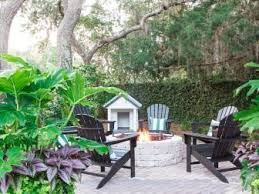 backyard landscape design plans. Fine Landscape Backyard From HGTV Dream Home 2017 Intended Landscape Design Plans