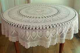 90 round tablecloth cotton designs