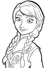 Disney Elsa Coloring Pictures Princess Coloring Page Free Coloring