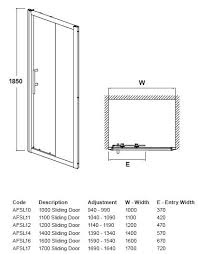 sliding gl door measurements photos wall and