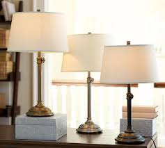 Image of: Bedside Table Lamp Size