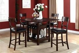 dining table set with lazy susan. counter height dining table storage set w lazy susan drop leaf with
