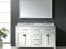 58 inch bathroom vanities elegant marvelous vanity double sink best without top