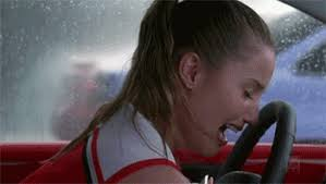 Image result for crying woman in car