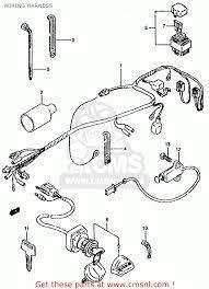 suzuki lt80 1990 l general united kingdom e01 e02 wiring wiring harness schematic