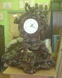 Каминные часы Рококо Дипломная работа в колледже Резьба по  Каминные часы Рококо Дипломная работа в колледже
