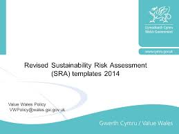 Revised Sustainability Risk Assessment (Sra) Templates Ppt Video ...