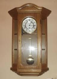 hermle wall clock regulator osterly pendulum clock movement 341 021 circa 1980