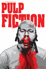 best pulp fiction images movie posters film  pulp fiction