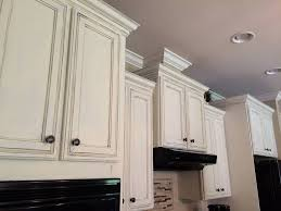 image of chalk paint kitchen cabinets white