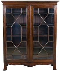 antique bookcase with glass door antique bookcases with glass doors