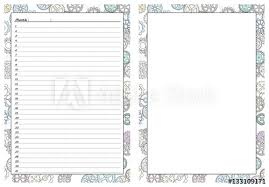 planner page template set of pages template for daily planner printable for scrapbook