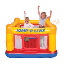 """<b>INTEX 48260</b> Игровой центр-<b>батут</b> """"Jump-o-Lene"""" 174х174х112 ..."""