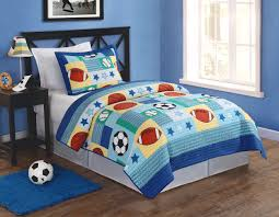 Cute Sports themed quilt for a young lad - My World Sports Multi ... & Cute Sports themed quilt for a young lad - My World Sports Multi Twin Quilt  Set Adamdwight.com