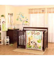 enchanting jungle baby bedding carter s jungle play piece crib bedding set jpg