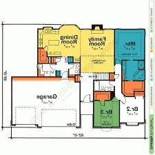 cool one story house plans one story house plans with open floor plans design basics for cool single story house plans