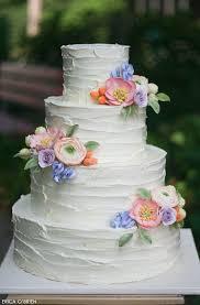 Rustic Buttercream Sugar Flowers Wedding Cakes Wedding Cake