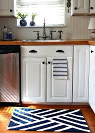 navy blue kitchen area rug