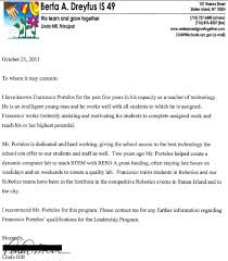 Letters Of Recommendation For Educators Letters Of Recommendation Educating Educators On Navigating The