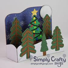 Freesvg.org offers free vector images in svg format with creative commons 0 license (public domain). Christmas Tree Farm Box Card Svg File Simply Crafty Svgs
