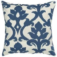Blue outdoor pillows & cushions
