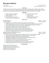 Personal Trainer Resume Example No Experience Best Of Personal Training Resume Sample Personal Training Resume Trainers