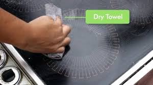 cleaning glass cooktop thrifty way