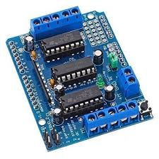 l293d arduino motor drive shield for servo stepper and dc motor arduino board in india hyderabad