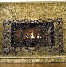 elegant cast iron fireplace screen iron fireplace cover with regard to cast iron fireplace screen renovation