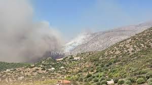 Φωτιά στην Κερατέα: Εκκενώθηκε ο οικισμός Φέριζα αλλά και οικοτροφείο με 30  παιδιά (pics, video)