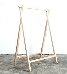 diy wooden clothing rack how to build a clothes rack with wood clothes rack by like diy wooden clothing rack