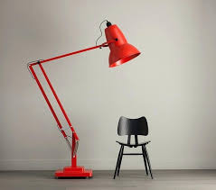 argos dimmer switch floor lamp giant adjule with by red