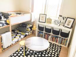 ikea kids bedroom ideas. Shared Boys Geometrical Bedroom. Combination Of IKEA And Kmart Styling\u2026 Ikea Kids Bedroom Ideas U