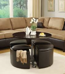 ... Large Size Of Coffee Table:wonderful Target Storage Ottoman Round  Leather Ottoman Leather Coffee Table ...