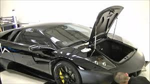 Lamborghini Murcielago SV 2010 - 3M Matt Black Wrap (Time Lapse ...
