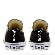 converse all star black. mens converse all star black white classic sneakers shoes personalized wedding groom