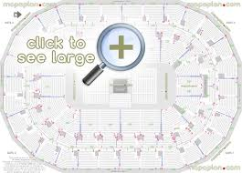 Detailed Seating Chart Bell Centre Montreal Mts Centre Seat Row Numbers Detailed Seating Chart