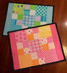 Happy Quilting: Charm Pack Placemats!!! & Wednesday, June 15, 2016 Adamdwight.com