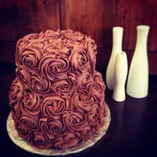 Cake Art Design Rouse Hill Gluten Free Double Chocolate Rosette Cake Two Layered