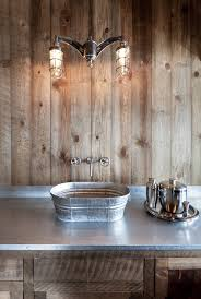 galvanized steel tub sink ideas